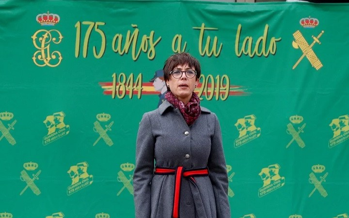 ¿Y la directora general de la Guardia Civil?
