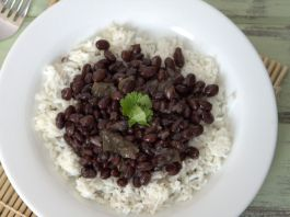 Cuban Style Black Beans and White Rice Recipe