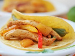 Pineapple Chicken Fajita Recipe