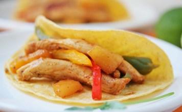 Pineapple Chicken Fajita Recipe