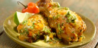 Spicy Cilantro Chicken Wings Recipe