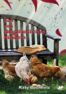 Eier von uebergluecklichen Huehnern