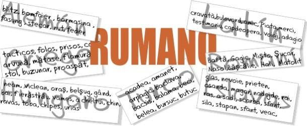 Rumano, documento nacional de identidades