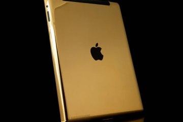 Gold iPad 3