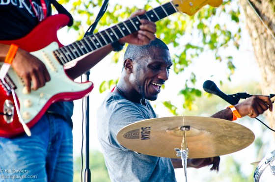 Cedric Burnside at the 2013 Revival Fest