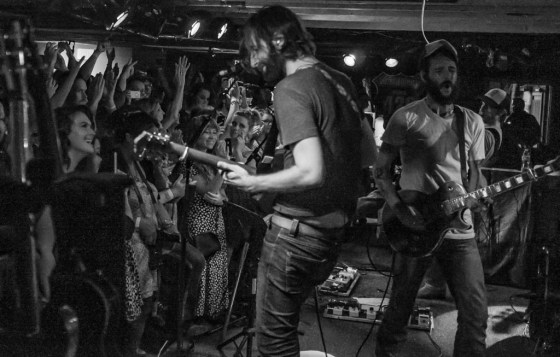 Band of Horses at The Wormhole in October 2013