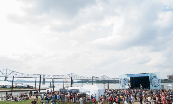 The Port Stage - 3rd largest of the 4 stages