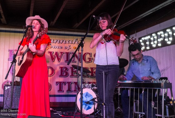 Margo & The Price Tags at Savannah Stopover 2015