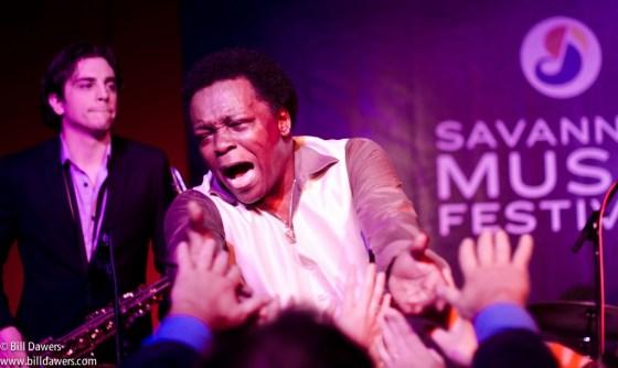Lee Fields at the 2013 Savannah Music Festival