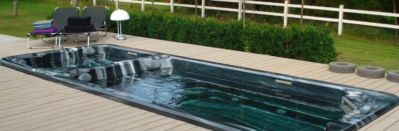 Spa de nage  Histoire d