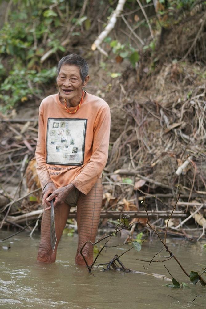 Ancien chasseur cueilleur Mentawai @Stef Ness