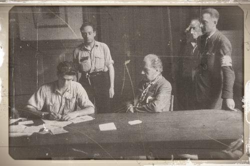 arrestation de Sacha Guitry à la liberation