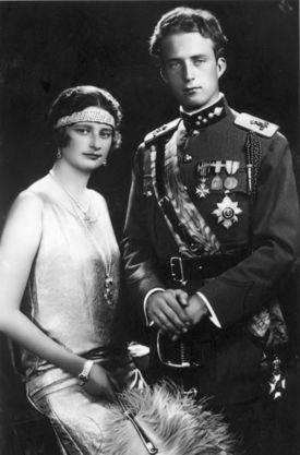 Léopold III et la reine Astrid
