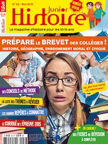 Histoire Junior n° 52 - mai 2016