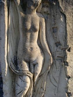 Bas-relief d'une Vénus