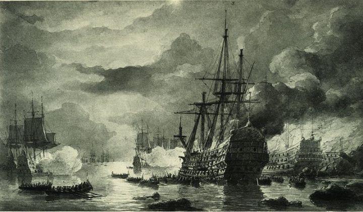 Bataille navale de la Hougue