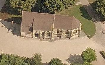 L'église Saint-Georges du château de Caen