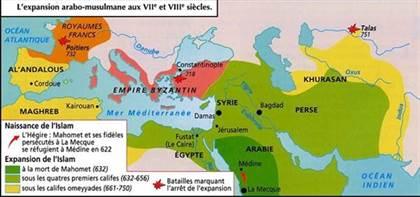 Conquêtes musulmanes et expansion de l'islam au Moyen Age