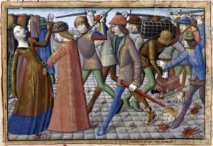 Révolte des cabochiens, extrait de la vigile de Charles VI