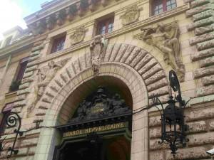 Entrée de la Caserne des Célestins sur le Boulevard Henri IV