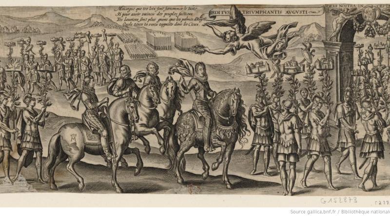 Entrée de Louis XIII dans Paris