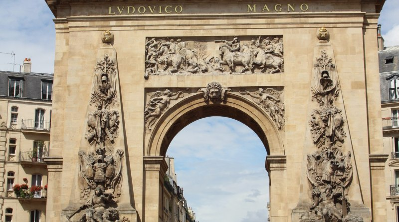 La porte saint denis histoires de paris for Porte de champerret salon histoire