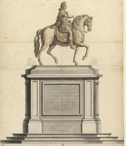 Statue equestre de Louis XIV