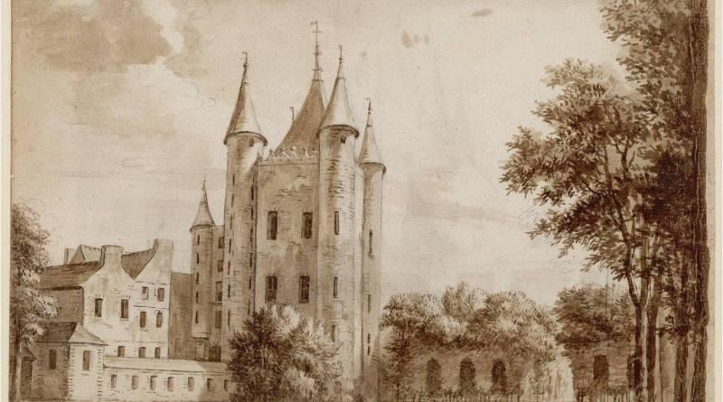 Tour du Temple en 1785