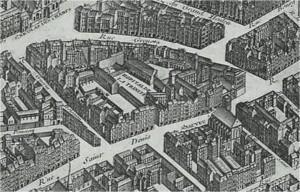 Hopital de la Trinité - enfants bleus en 1739