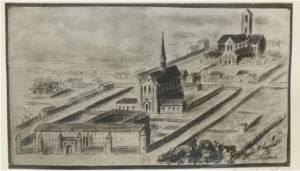 Saint Lazare en 1618
