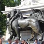 le Lion de la Statue de la République