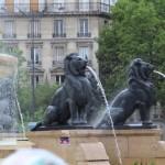 Lions de la Fontaine de Davioud