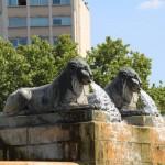Lions de la fontaine du Chateau d'eau