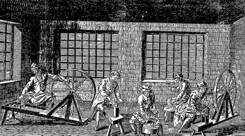 patenôtriers extrait de l'Encyclopédie Diderot et d'Alembert