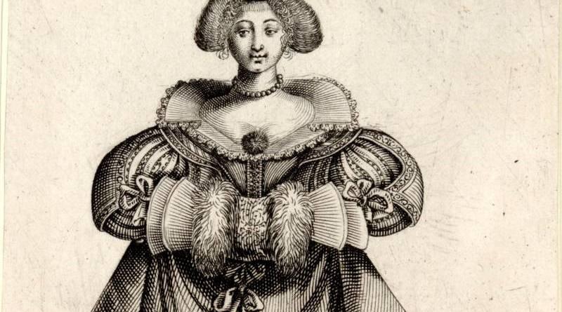 Maintien et habit d'une bourgeoise d'honneste condition par Jean de Saint Igny,