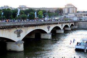 Le pont d'Iéna