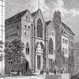 Saint Landry en 1810 par Romain Boulenger