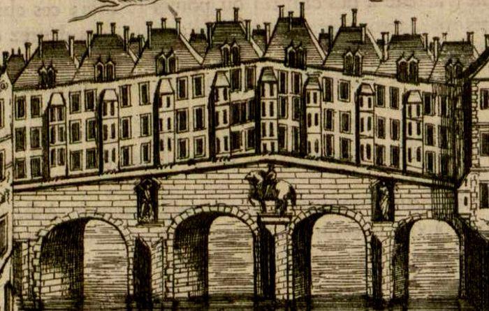 pont saint Michel Alain Manesson Malet en 1702
