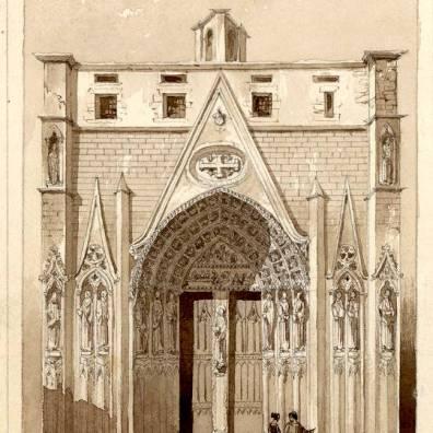 Eglise Saint Sépulcre près de Saint Merry