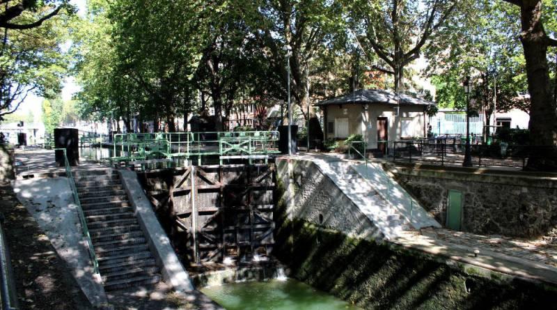 ecluses du canal Saint Martin écluse des morts