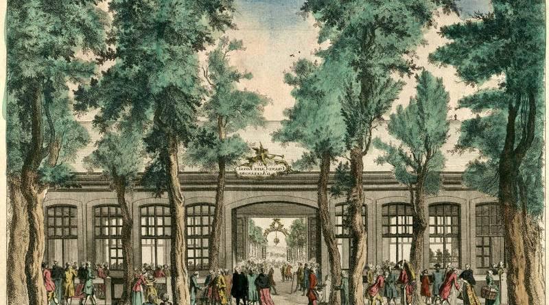 35e Vue d'Optique Representant Le Grand Caffé d'Alexandre sur le Boulevard du Temple
