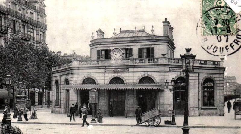 Gare de Courcelles Levallois Pereire