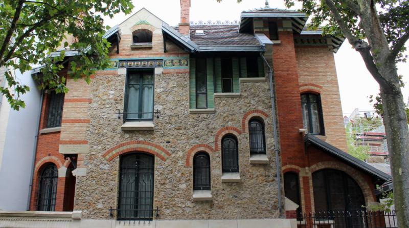 La villa Jassedé par Hector Guimard