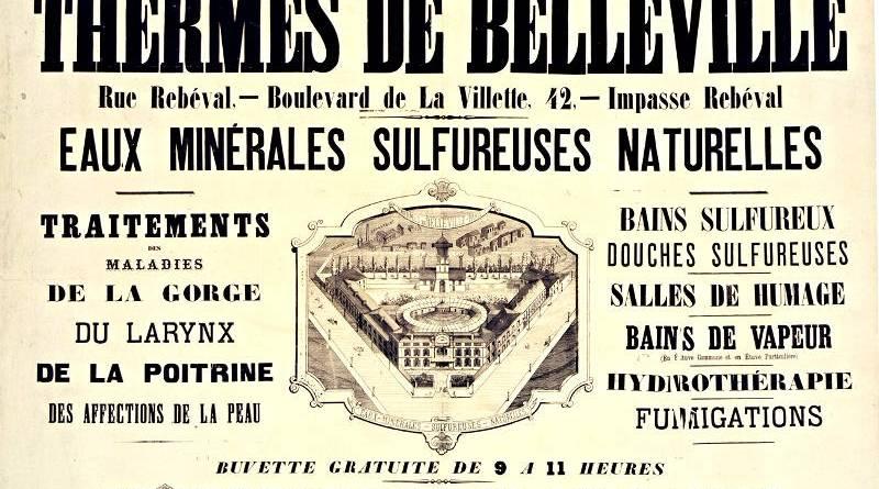 eaux sulfureuses de Belleville