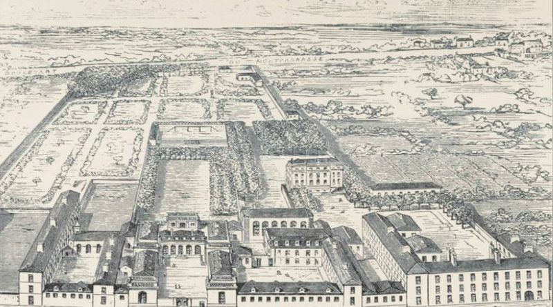la pension liautard - collège Stanislas en 1840