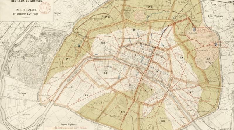 Distribution des eaux de sources par Lemercier