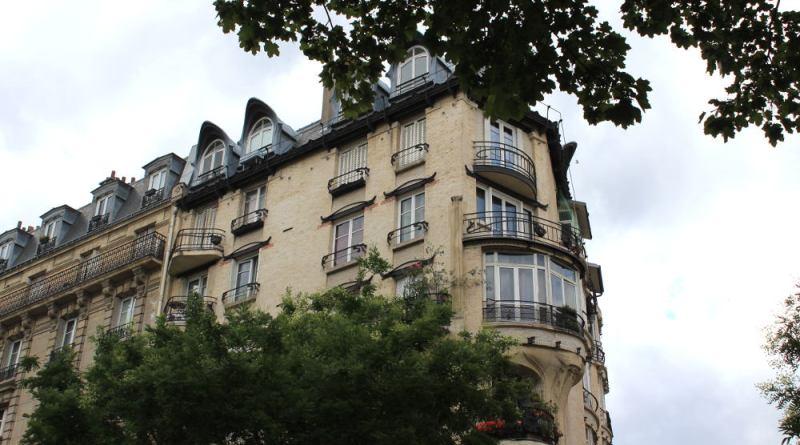 Immeuble Jassédé - photographie prise en juillet 2017