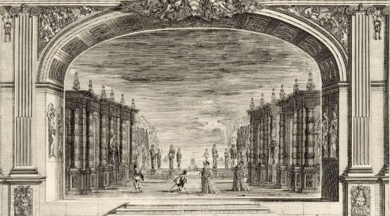 Ouverture de la grande salle théâtre du Palais Cardinal par Stefano Della Bella 6