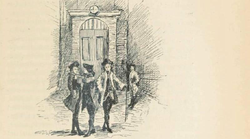 groupe d'écoliers au XVIIIe siècle