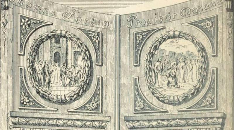 nouvelle porte du collège d'Harcourt au XVIIe siècle